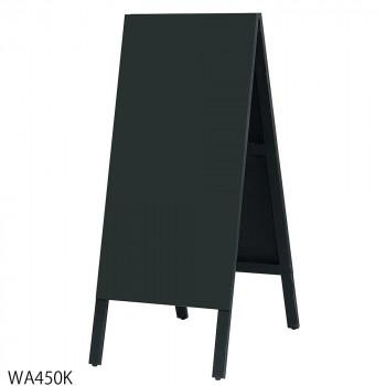 馬印 木製A型案内板 BLACK BOARD(黒板) WA450K送料込!【代引・同梱・ラッピング不可】