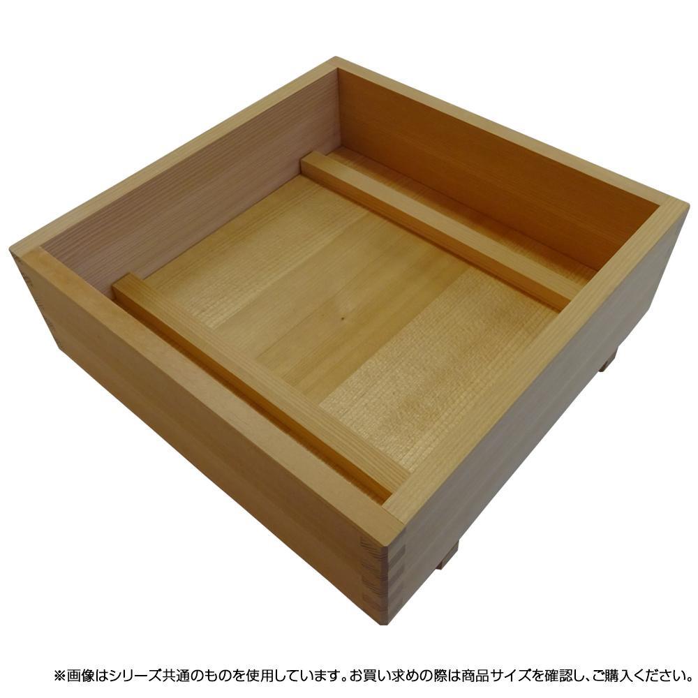 星野工業 木製箱寿司押し型 27×27cm (8合)