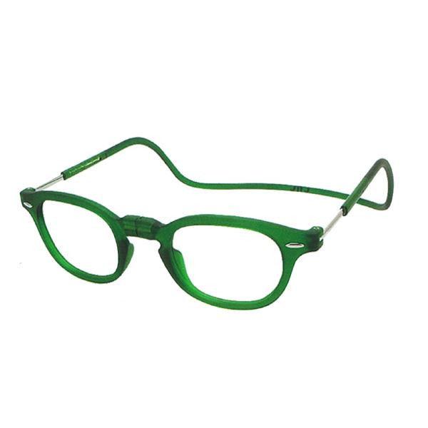 老眼鏡 clic readers クリックリーダー クリックヴィンテージ エメラルドグリーン(マット)送料込!【代引・同梱・ラッピング不可】