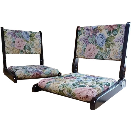 折畳回転座椅子 2台組 TAN-802(2ダイクミ)送料込!【代引・同梱・ラッピング不可】