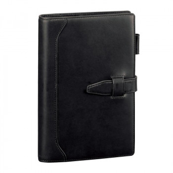 レイメイ藤井 ダ・ヴィンチグランデ オリーブレザー システム手帳 聖書サイズ ブラック DB3027B