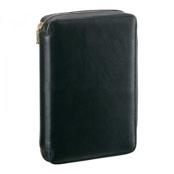 レイメイ藤井 ダ・ヴィンチ システム手帳 聖書サイズ ラウンドファスナータイプ ブラック DB3004B