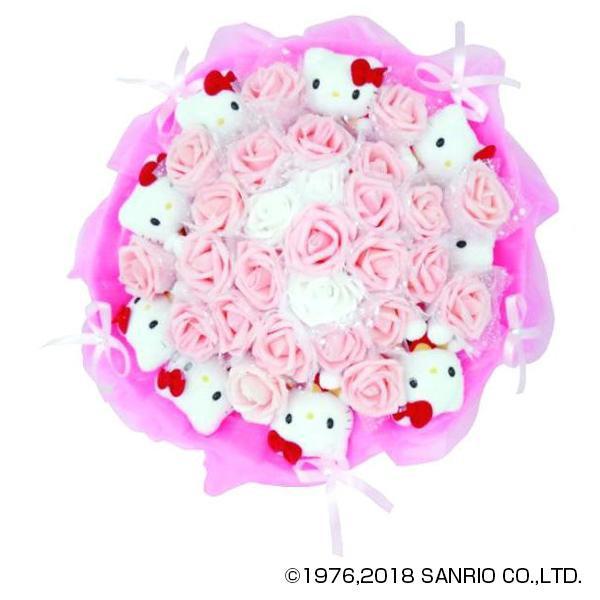 Hello Kitty ハローキティぬいぐるみブーケ 9本 SNRO-02
