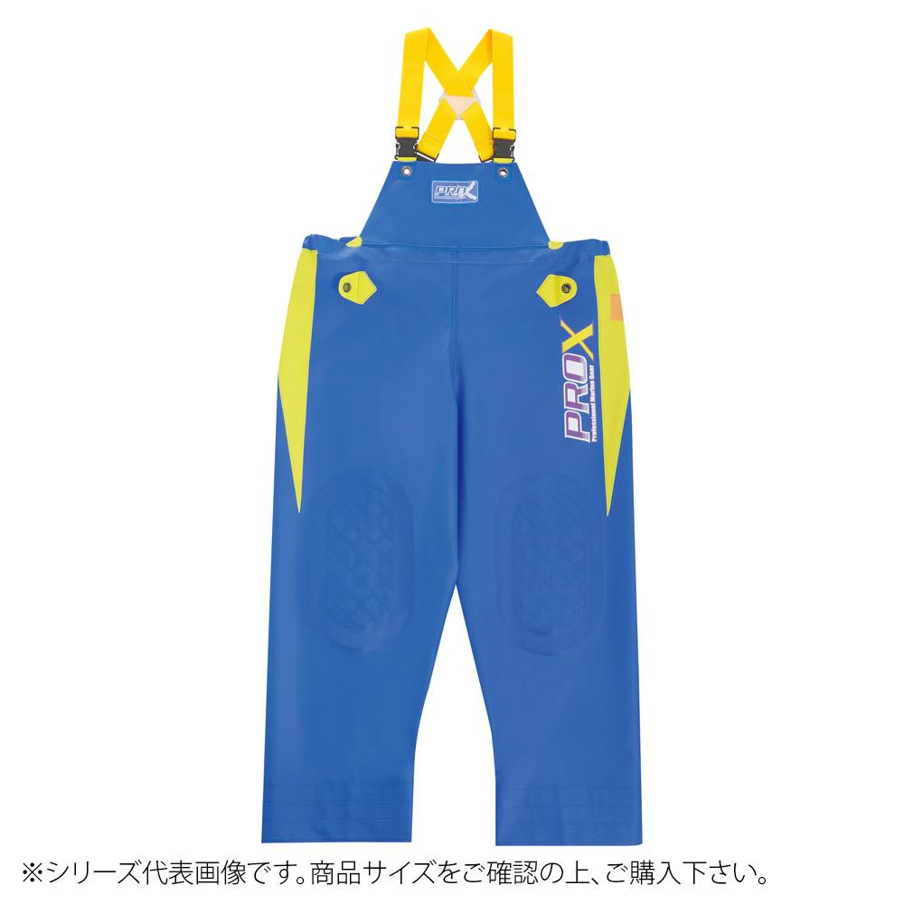 弘進ゴム プロエックスα 胸付ズボン ブルー 2LL G0614AX