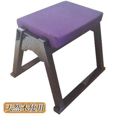 鈴木木工所 本堂用椅子 黒送料込!【代引・同梱・ラッピング不可】
