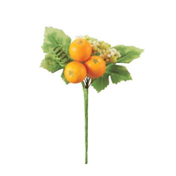 ガーデニング ミニオレンジピック オレンジ 24本セット H0471 アレンジメント送料込!【代引・同梱・ラッピング不可】  【北海道・離島・沖縄は送料別】
