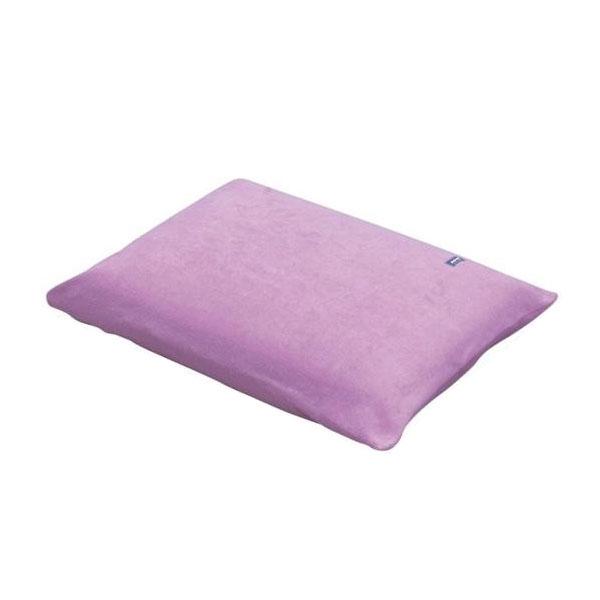 ラテックス枕型クッション パープル 1050-J送料込!【代引・同梱・ラッピング不可】
