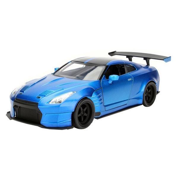 正規輸入品 Jada TOYS ミニカー 1:24 Brian's Nissan GT-R (R35) Ben Sopra 19843送料込!【代引・同梱・ラッピング不可】