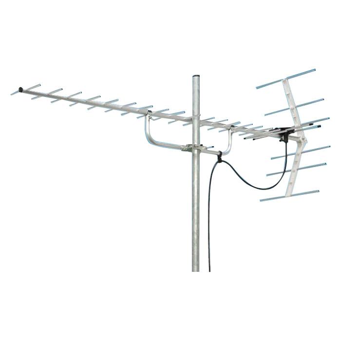 マスプロ電工 地上デジタル放送受信用 家庭用 UHFアンテナ 20素子 U206TMH【代引・同梱・ラッピング不可】