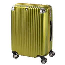 協和 TRAVELIST(トラベリスト) スーツケース ストリークII ジッパーハード Mサイズ TL-14 ライムヘアライン・76-20227【代引・同梱・ラッピング不可】