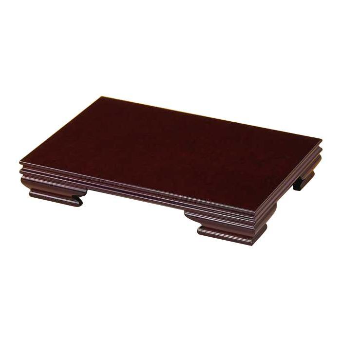高岡銅器 木製飾台 雅 16号 紫檀色 61-01