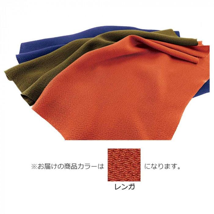 正絹ちりめん無地ふろしき 正二尺巾 レンガ 49-010203