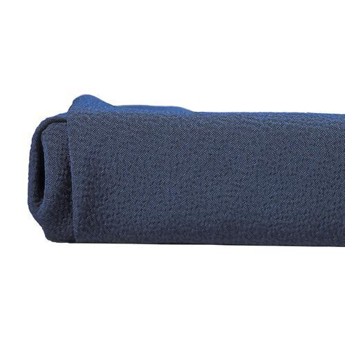 山田繊維 風呂敷(ふろしき) 二巾 正絹うずらちりめん 色の彩時記 鉄紺テツコン 30613-219