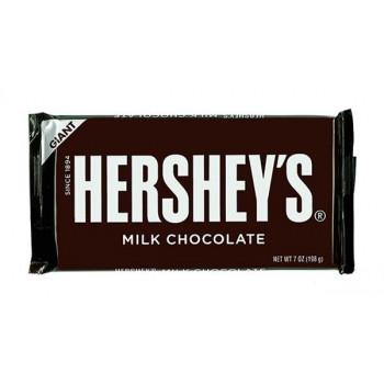 260-301 ハーシーチョコレート チョコレートバー ジャイアントミルクチョコレート (198g×12)×2送料込!【代引・同梱・ラッピング不可】  【北海道・離島・沖縄は送料別】