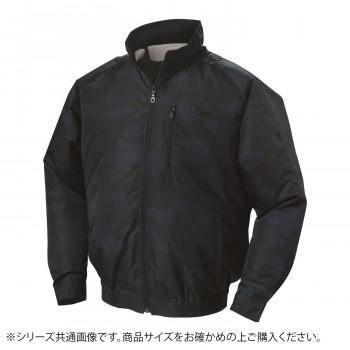 NA-102 空調服 (服 L) 迷彩ネイビー チタン タチエリ 8208421