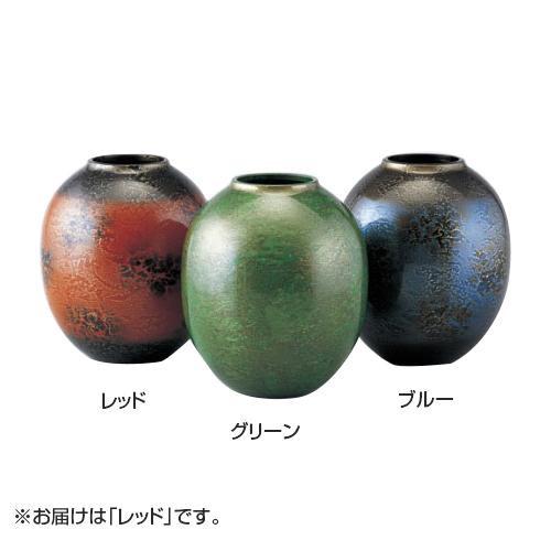 高岡銅器 銅製花瓶 花宝 レッド 102-08