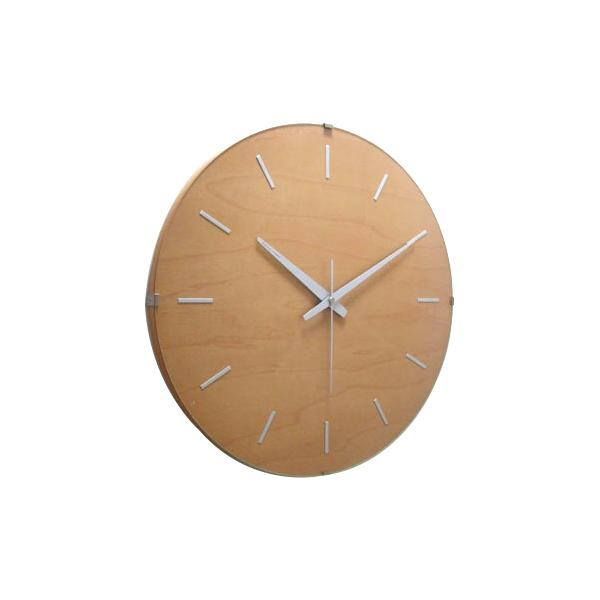 ドームバークロック 電波時計 ナチュラル V-031