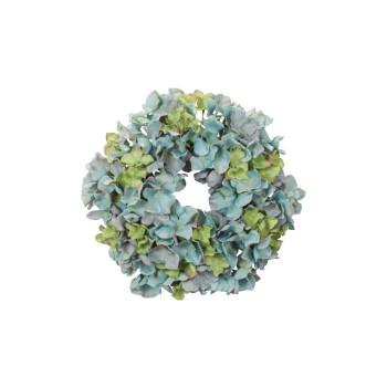 アーティフィシャルフラワー ハイドレンジアリース ブルー/グリーン 6ヶセット Z0111 アレンジメント送料込!【代引・同梱・ラッピング不可】