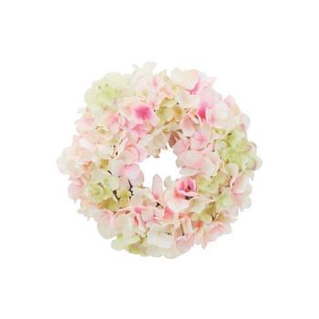 アーティフィシャルフラワー ハイドレンジアリース ホワイト/ピンク 6ヶセット Z0120 アレンジメント送料込!【代引・同梱・ラッピング不可】
