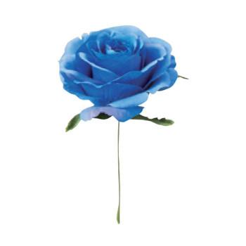 アーティフィシャルフラワー ジェシカローズピック ブルー 24本セット R1117 アレンジメント送料込!【代引・同梱・ラッピング不可】
