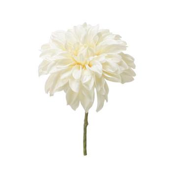 アーティフィシャルフラワー ダリアピック ホワイト 12本セット P4657 アレンジメント送料込!【代引・同梱・ラッピング不可】