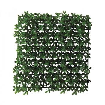 観葉物 ボックスウッドマット ツートン/グリーン 12枚セット FD3801 アレンジメント送料込!【代引・同梱・ラッピング不可】