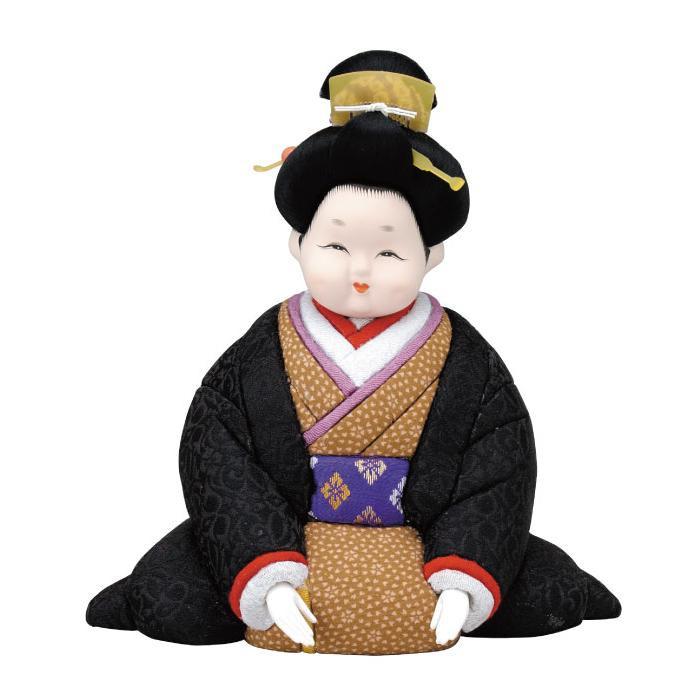 01-029 木目込み人形 お福さん セット