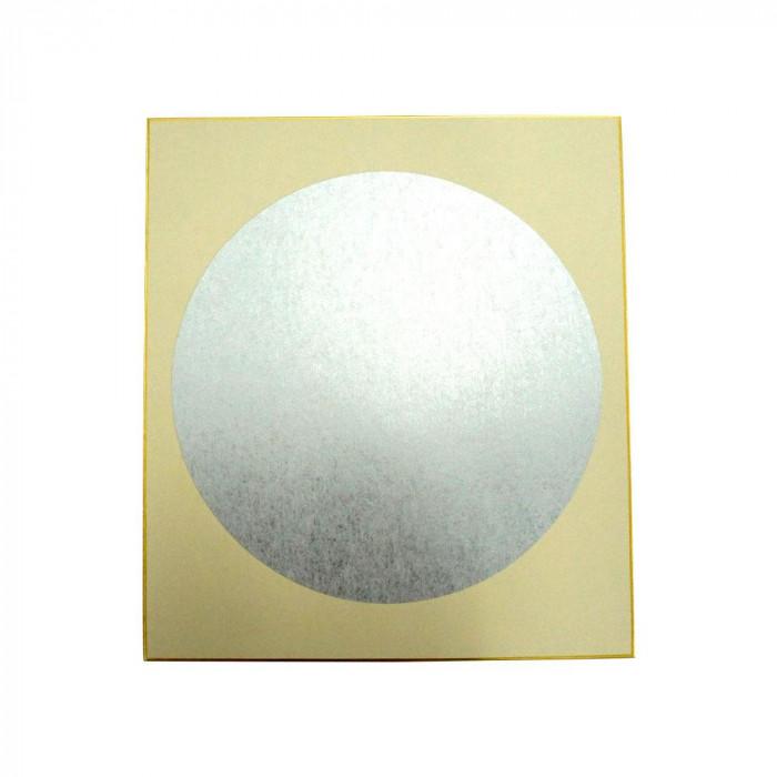 大色紙 円窓型 内銀潜紙 特上 50枚 0057
