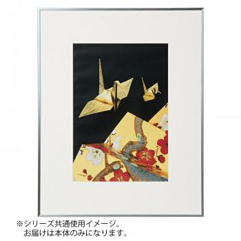 Kenko ケンコー・トキナー アルミ額縁 画廊 ワイド四切 ガラス入り シルバー AGR-W4-SV