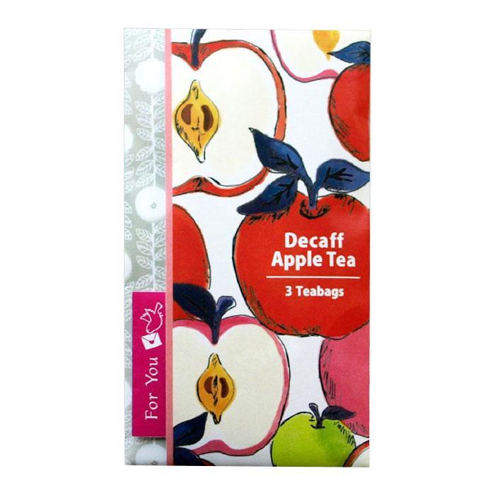 ティーブティック ティーレター デカフェ紅茶 3TB×12セット アップル・52002送料込!【代引・同梱・ラッピング不可】
