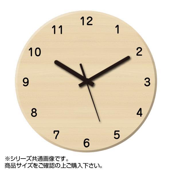 MYCLO(マイクロ) 壁掛け時計 ウッド素材(メープル) 丸型 30cm 木製時計 com414