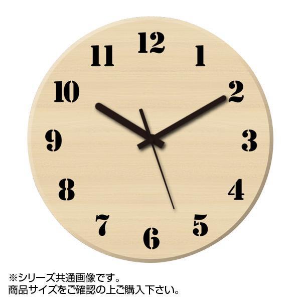 MYCLO(マイクロ) 壁掛け時計 ウッド素材(メープル) 丸型 30cm 木製時計 com420