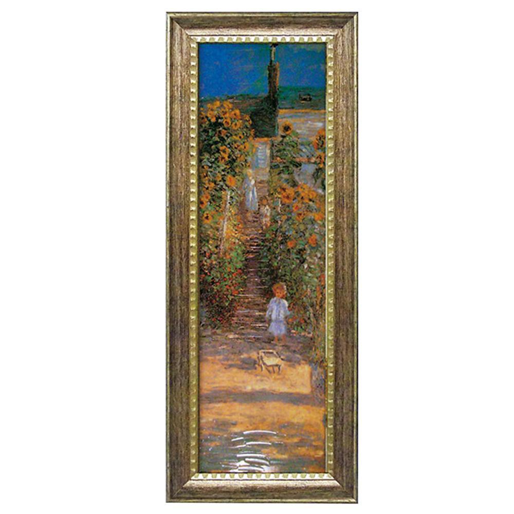 ユーパワー ミュージアム シリーズ モネ「ヴェトゥイユの画家の庭」 MW-18090【代引・同梱・ラッピング不可】