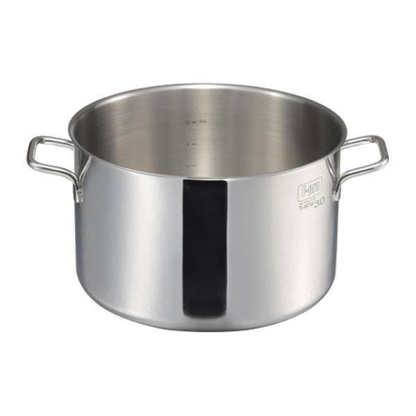 MTI IH F-PRO 半寸胴鍋蓋無(目盛付) 32cm 004785-032