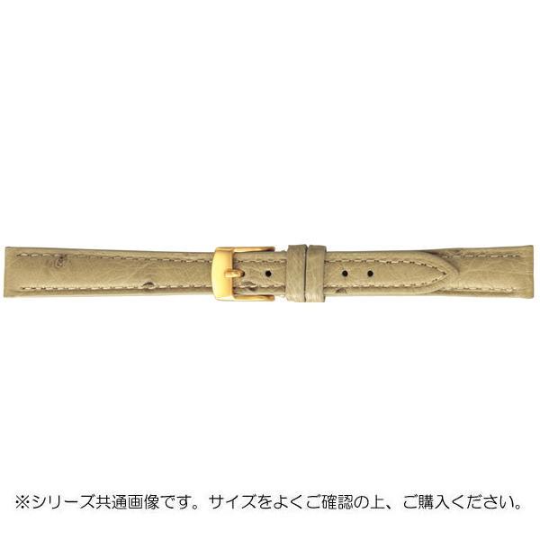 BAMBI バンビ 時計バンド エルセ オーストリッチ革 アイボリー(美錠:金) SDA005HI