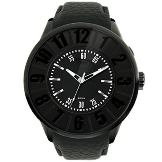 ROMAGO DESIGN (ロマゴデザイン) Numeration series ヌメレーションシリーズ 腕時計 RM007-0053ST-BK