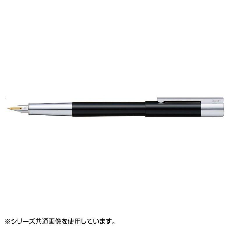 ラミー スカラ ピアノブラック 万年筆(M) 14金ペン先プラチナ仕上げ L79PB-M