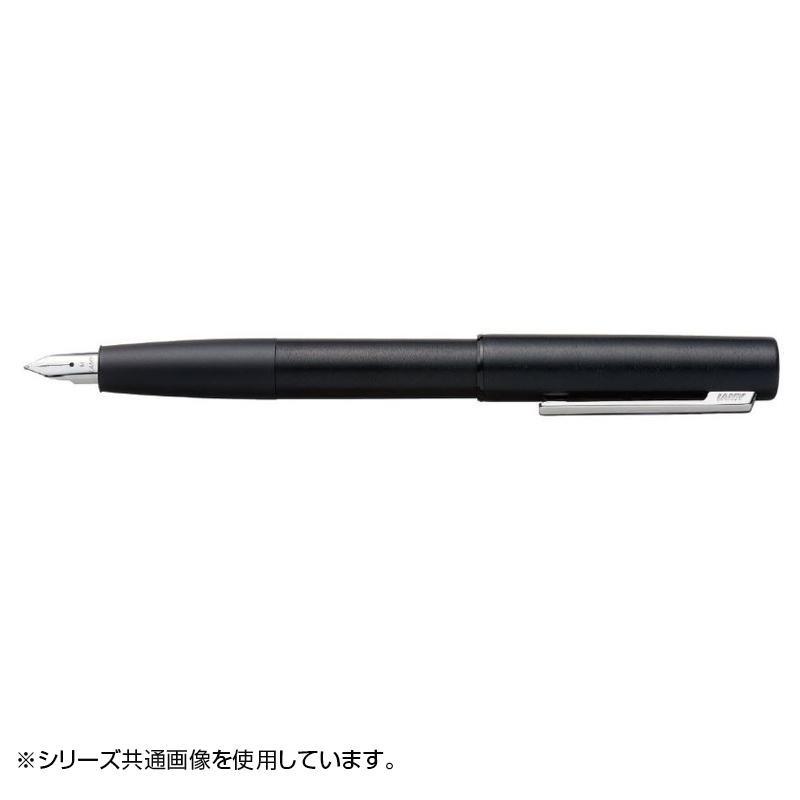 ラミー アイオン ブラック 万年筆(EF) スチールペン先 L77BK-EF