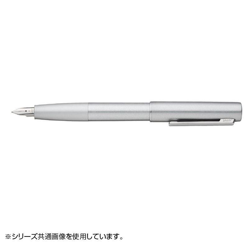 ラミー アイオン オリーブシルバー 万年筆(B) スチールペン先 L77OS-B