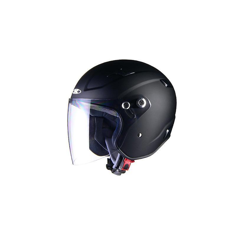 リード工業 X-AIR RAZZOIII ジェットヘルメット マットブラック Lサイズ