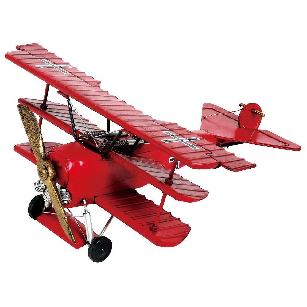ブリキのおもちゃ(triplane) 27137【代引・同梱・ラッピング不可】【北海道・離島・沖縄は送料別】