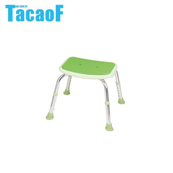 幸和製作所 テイコブ(TacaoF) シャワーチェア(背無) BSOC02 グリーン【代引・同梱・ラッピング不可】