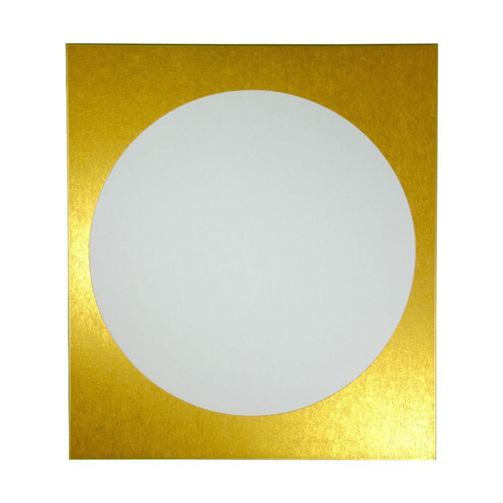 大色紙 円窓型 外金潜紙 特上 50枚 0056