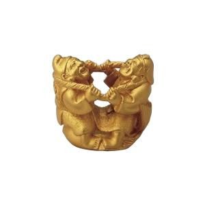 高岡銅器 銅製置物 目出鯛恵比寿大黒 44-03