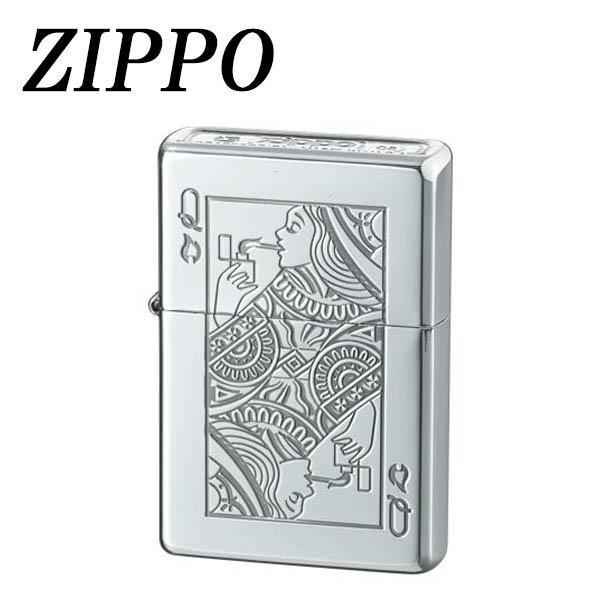 ZIPPO ボトムズアップ トランプ クイーン