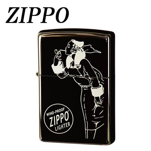 ZIPPO US加工ブラックアイス ウィンディ(1)