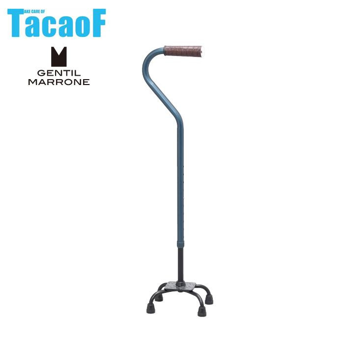 (非課税) 幸和製作所 テイコブ(TacaoF) 多脚杖 ファビオ ネイビー CAG01【代引・同梱・ラッピング不可】