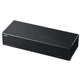 フルHD対応DVIディスプレイ分配器(4分配)