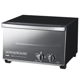 ツインバード ミラーガラスオーブントースター ブラック TS-D047B 【AS】送料込みで販売!