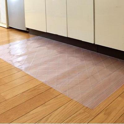 DPF(ダイヤプラスフィルム) キッチン床面保護マット クリスタルダイヤマット 80cm×180cm 送料込!【代引・同梱・ラッピング不可】